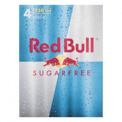 Red Bull Sugarfree 4 pack
