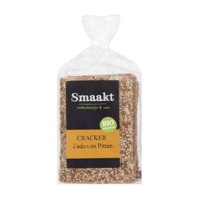 Smaakt Biologisch Cracker Zaden en Pitten