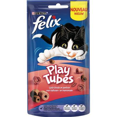 Felix Playtubes met kalkoen- en hamsmaak