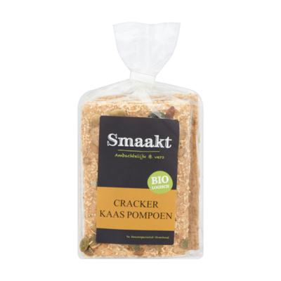 Smaakt Biologisch Cracker Kaas Pompoen