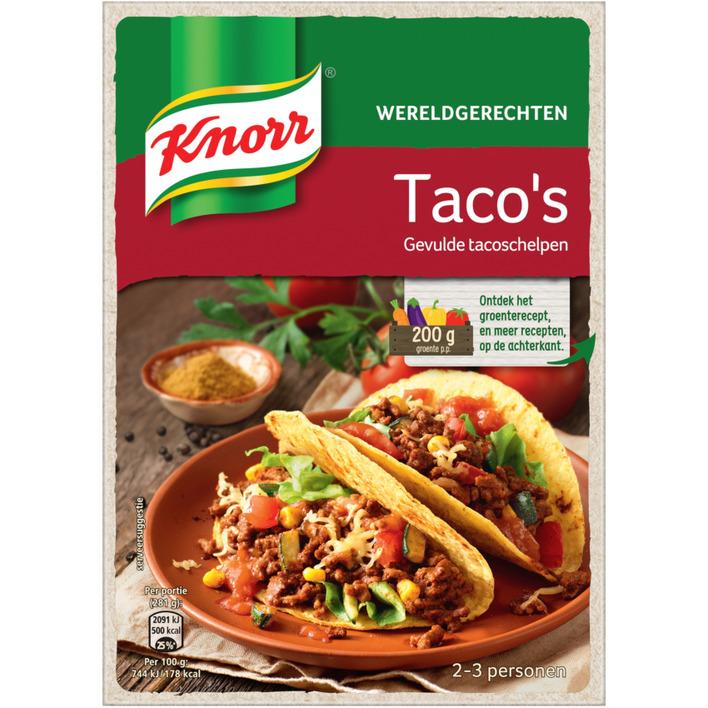Knorr Wereldgerechten taco's
