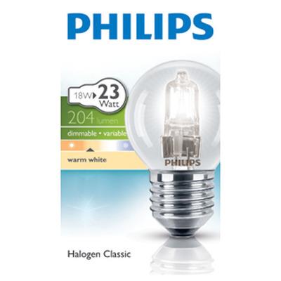 Philips Ecolamp helder kogel 18W nf