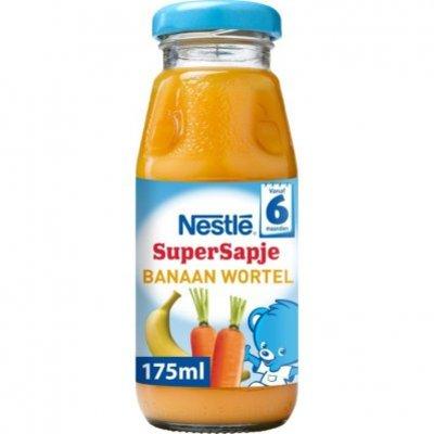 Nestlé Supersapje banaan wortel 6+ mnd baby sap