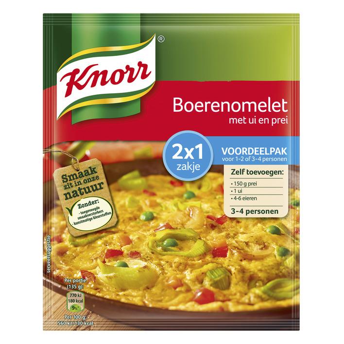 Knorr Mix boerenomelet