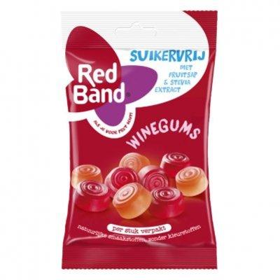 Red Band Suikervrij berries winegum
