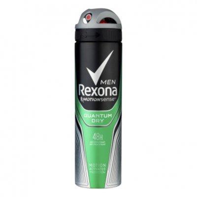 Rexona Deodorant spray men dry quantum
