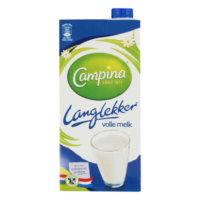 Campina Langlekker volle melk