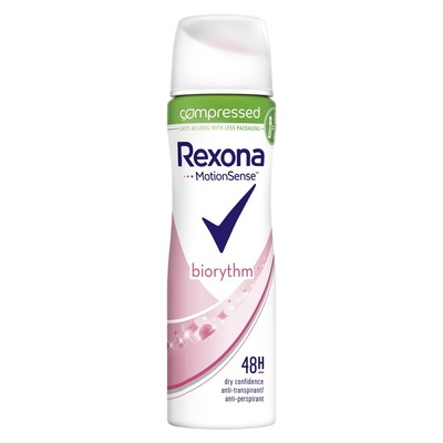 Rexona Deodorant spray women ultra dry biorythm