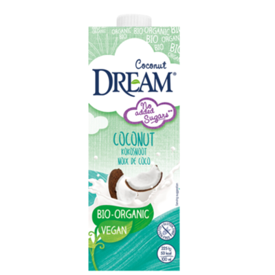 Coconut dream biologisch kokosnoot en rijst 1 liter