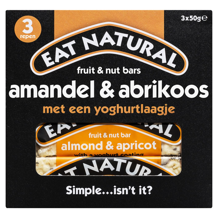 Eat Natural Fruit & nut bars amandel & abrikoos