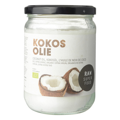 Raw Organic Food Kokosolie