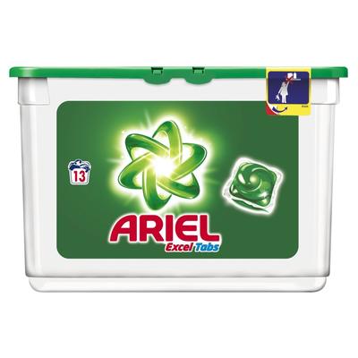 Ariel Excel Tabs Regular Wasmiddel Capsules 13 Wasbeurten