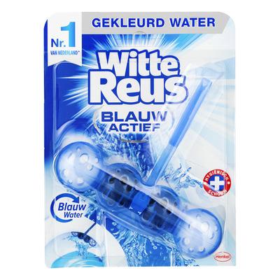 Witte Reus Toiletblok blauw actief