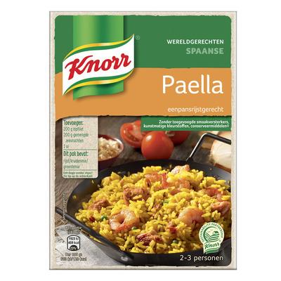 Knorr Wereldgerechten paëlla