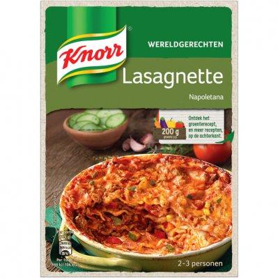 Knorr Wereldgerecht lasagnette napoletana