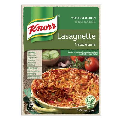 Knorr Wereldgerechten lasagnette napoletana