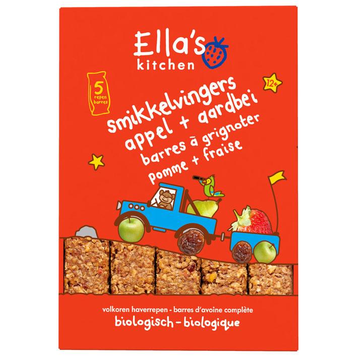 Ella's Kitchen Smikkelvingers appels aardbei 12+ mnd