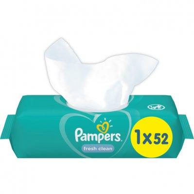 Pampers Baby wipes fresh & clean