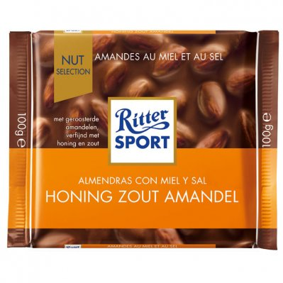 Ritter Sport Nut selection honing zout amandel