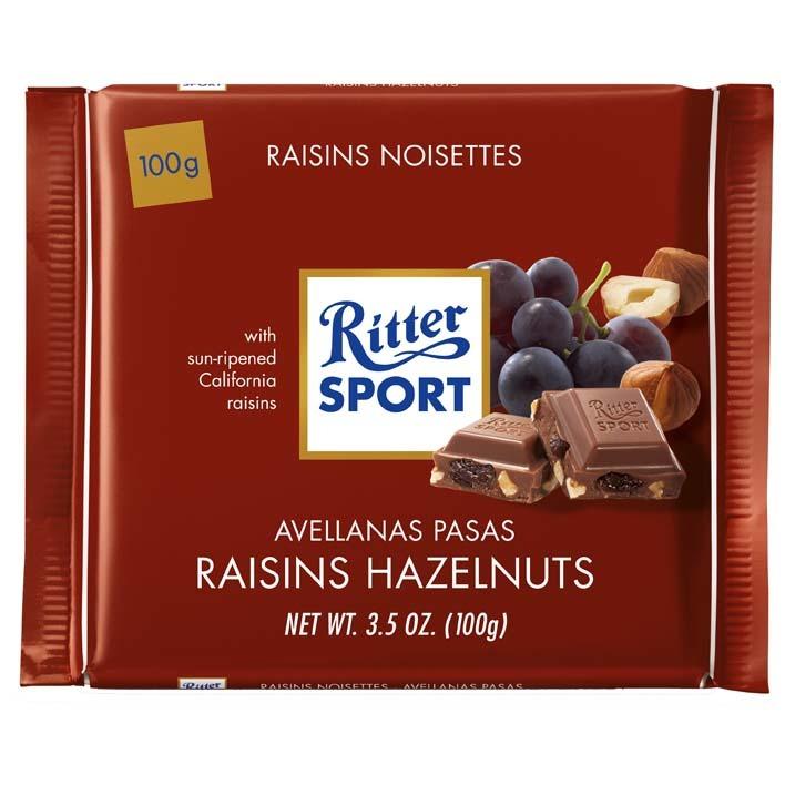 Ritter Sport Raisin & hazelnut tablet