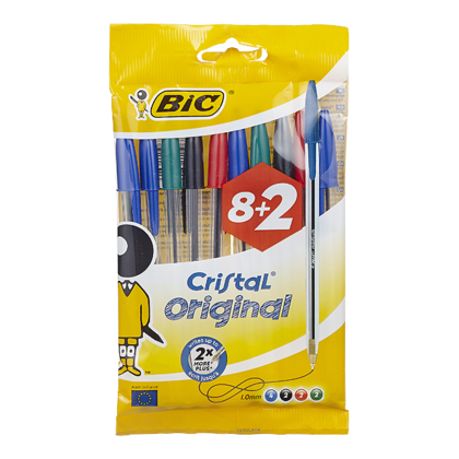 Bic Balpen cristal medium
