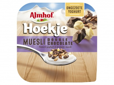 Almhof Hoekje muesli double choco