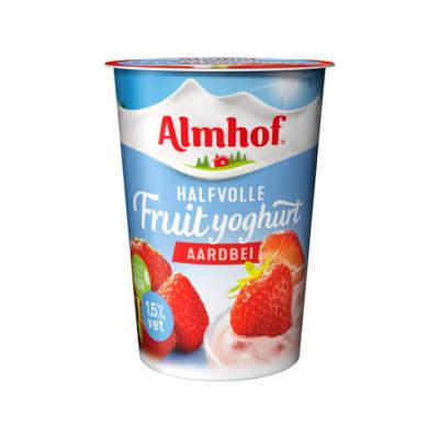 Almhof Halfvolle Fruityoghurt Aardbei
