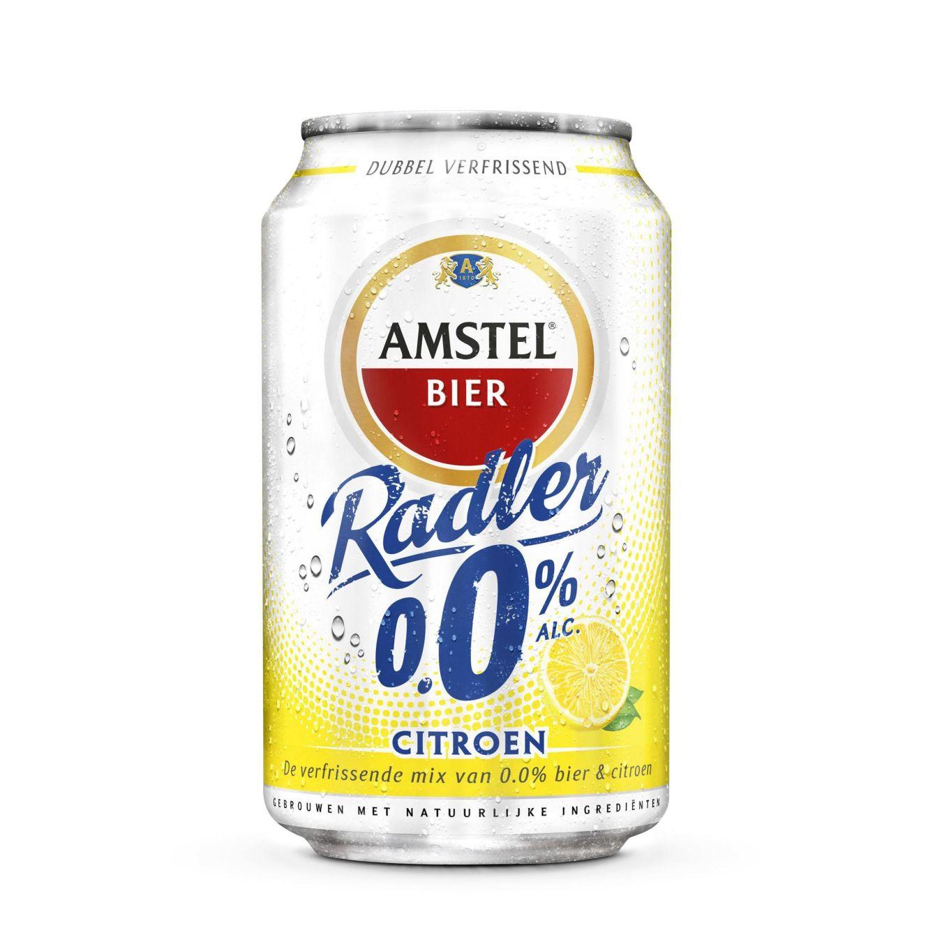 Amstel Radler 0.0% Citroen Bier Blik