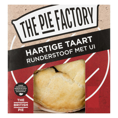 The Pie Factory Hartige taart runderstoof-ui