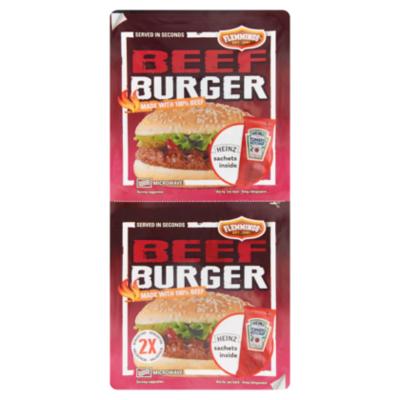 Flemmings Beefburger duo pack