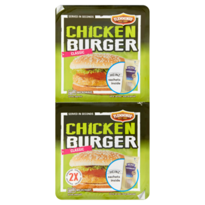 Flemmings Chickenburger duo