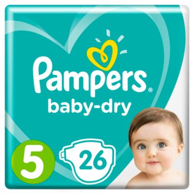 Pampers Luiers Baby Dry maat 5