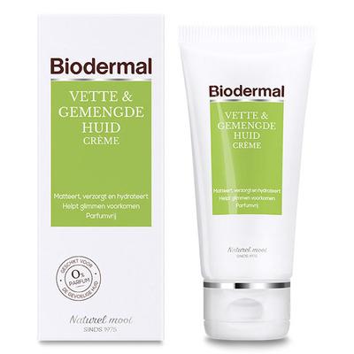 Biodermal Vette & gemengde huid crème