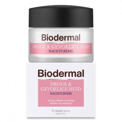Biodermal Droge & gevoelige huid nachtcrème