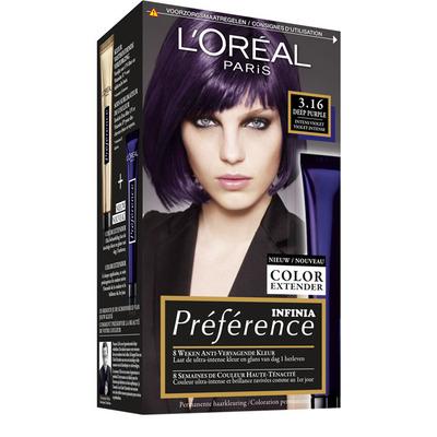 L'Oréal Preference purple intens violet 3.16
