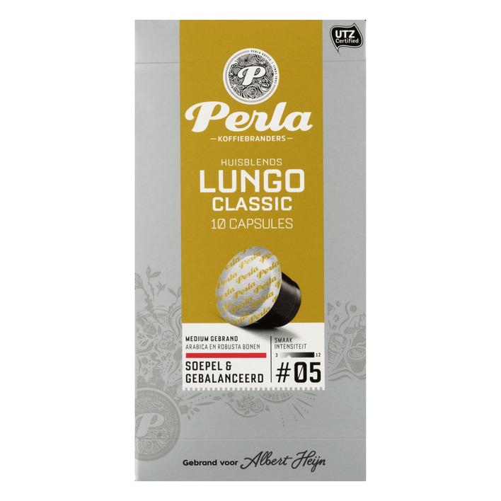 Huismerk Lungo classic capsules