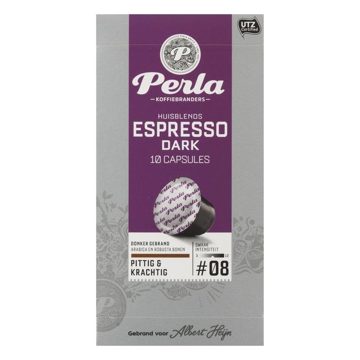 Huismerk Espresso dark capsules