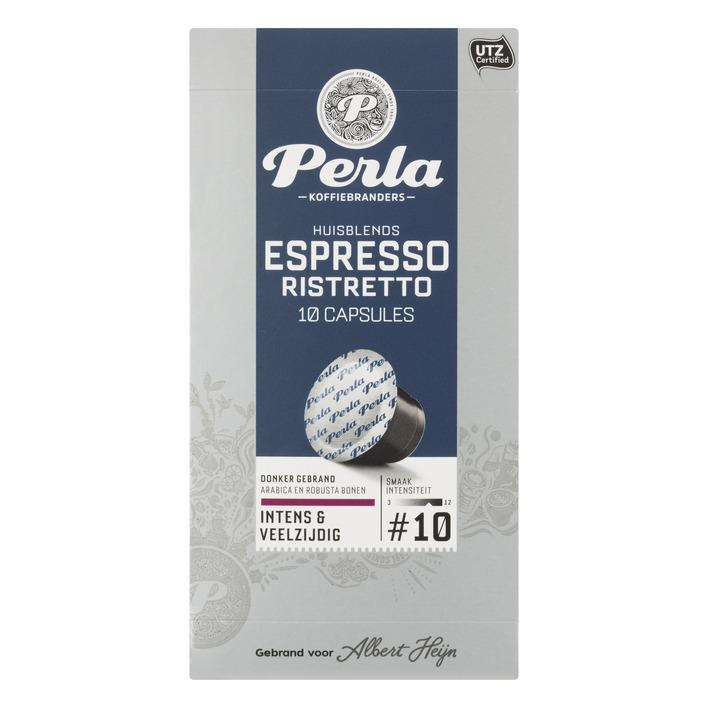 Huismerk Espresso ristretto capsules
