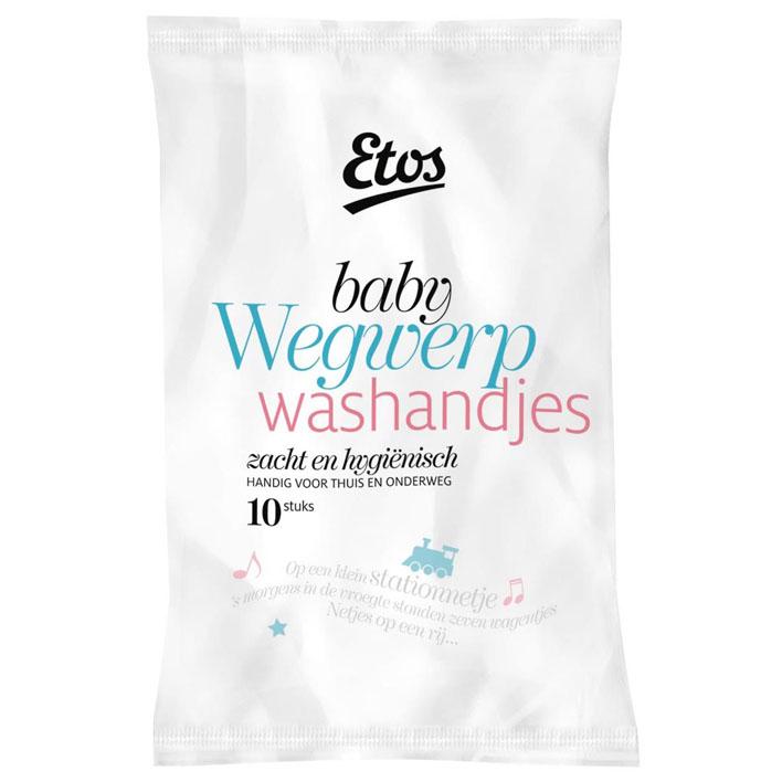 Huismerk Baby wegwerpwashandjes