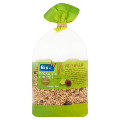Bio+ Krokante muesli rozijn biologisch