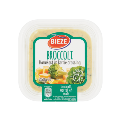 Bieze Broccoli Rauwkost in Kerrie Dressing