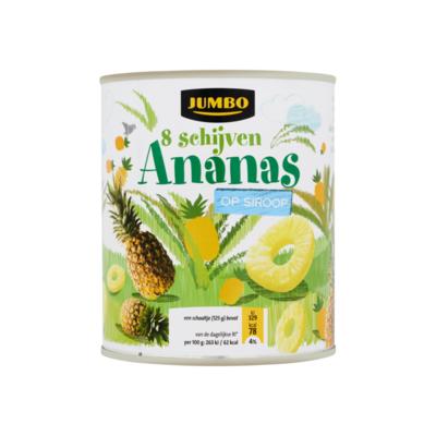 Huismerk Ananas op Siroop 8 Schijven