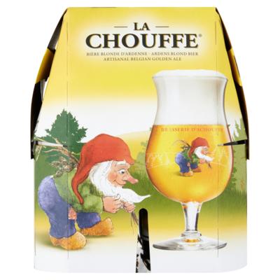 La Chouffe Bier 4 x 33cl