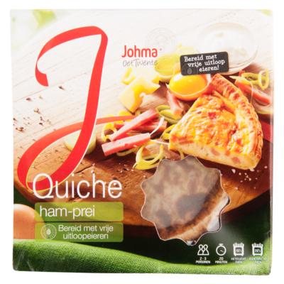 Johma Quiche ham-prei