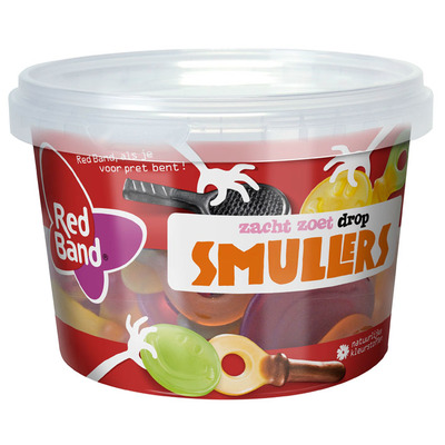 Red Band Smullers snoep uitdeelmix