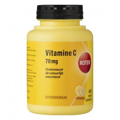 Roter Vitamine C 70 mg kauwtabletten citroen