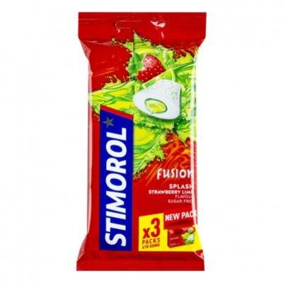 Stimorol Kauwgom max splash strawberry lime