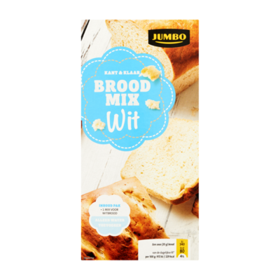 Huismerk Brood Mix Wit Kant & Klaar