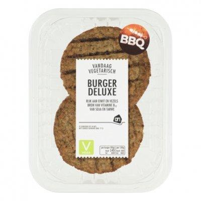 Huismerk Vegetarische gegrilde hamburger