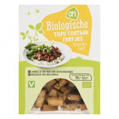 AH Biologisch Tofu Oosterse roerbakreepjes zoet